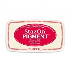 Stazon Pigment Inkpad - Passion Red