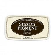 Stazon Pigment Inkpad - Piano Black