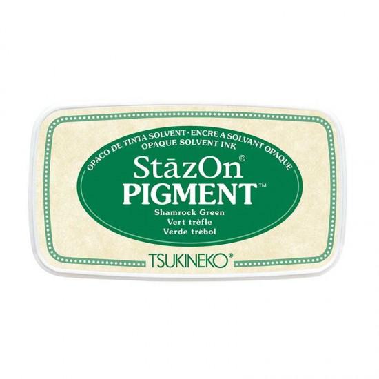 Stazon Pigment Inkpad - Shamrock Green