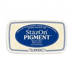Stazon Pigment Inkpad - Mariner Blue
