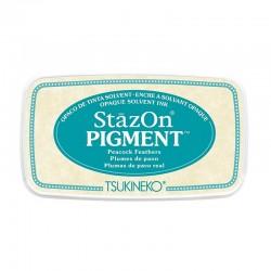 Stazon Pigment Inkpad - Peacock Feathers