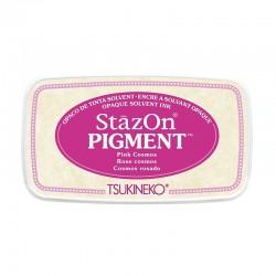 Stazon Pigment Inkpad - Pink Cosmos