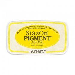 Stazon Pigment Inkpad - Lemon Drop