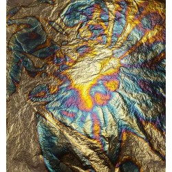 Gold Leaf Sheets Gilding Metal Oxidating Blue