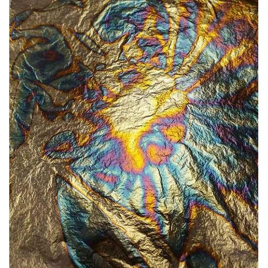 Gold Leaf Sheets Gilding Metal Oxidating Blue