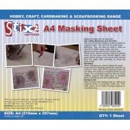 Masking Sheet A4