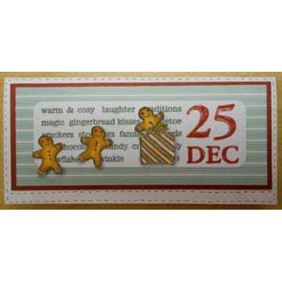 25 Dec Rubber Stamp