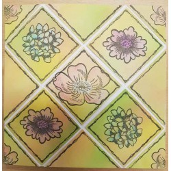 5 Frames Rubber Stamp