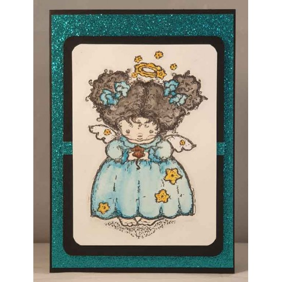 Angelica Rubber Stamp