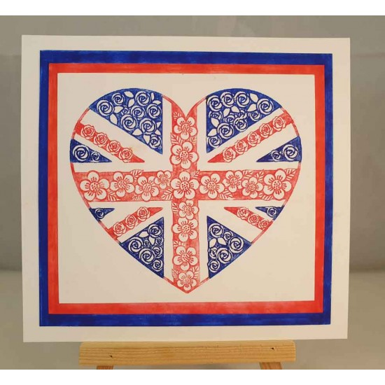 Union Jack Project cling mounted Kit