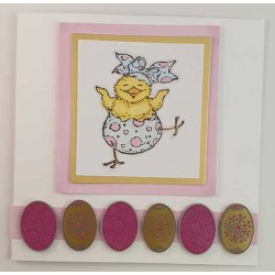 Easter Friends Rubber Stamps