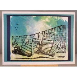 In the Harbour Cling Rubber Stamp