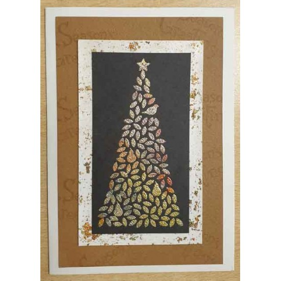 Partridge in a Pear Tree Cling Rubber Stamp