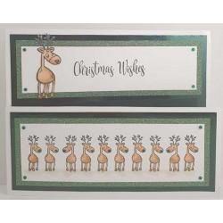Reindeer Rubber Stamp