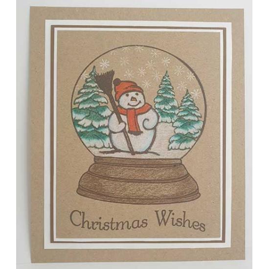 Snowglobe Clear Stamp Set