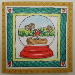 Small Winter Wonderland Rubber Stamp Set