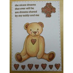 Ted Rubber Stamp Set