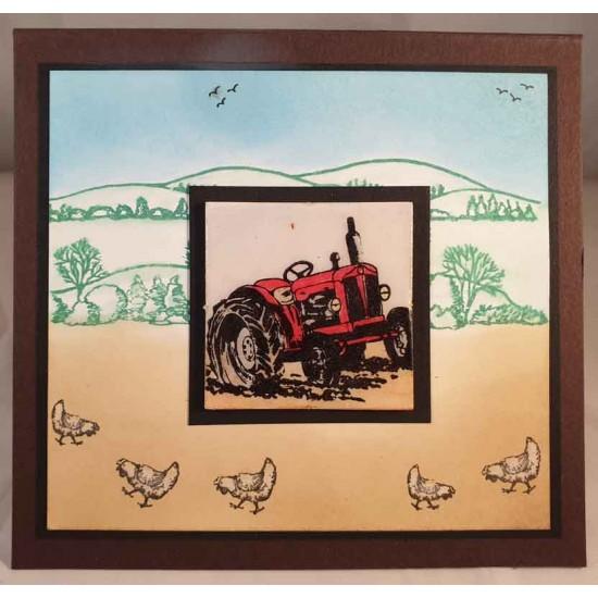 Rolling Hills Rubber Stamp Set
