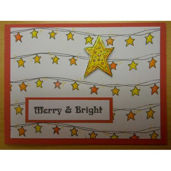 Christmas Twiddly Bits Rubber Stamp Set