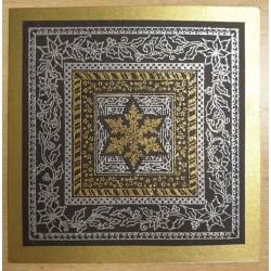 JudiKins Christmas Frames Cling Rubber Stamp