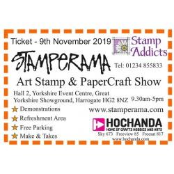 Ticket Stamperama Harrogate November 2019