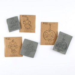 The Featherettes Cling Rubber Stamps