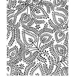 JudiKins Stitched Leaves Cling Rubber Stamp