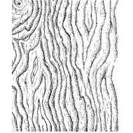 JudiKins Wood Grain Cling Rubber Stamp
