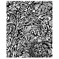 JudiKins Paisley Background Cling Rubber Stamp
