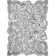 Mince Lace Cling Rubber Stamp