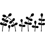Sprouts Cling Rubber Stamp