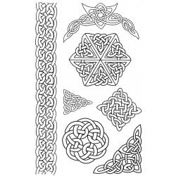 Celtic Rubber Stamp Set
