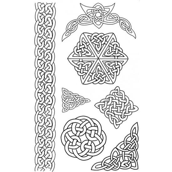 Celtic Rubber Stamp Set