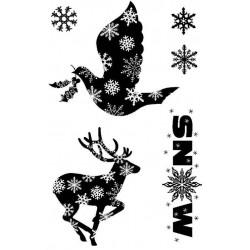 Snowflake Splendour Rubber Stamp Set - ON SALE