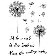 Dandelion Wishes Rubber Stamp Set