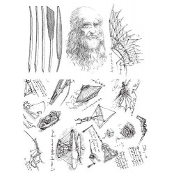 DaVinci Rubber Stamp set by JudiKins