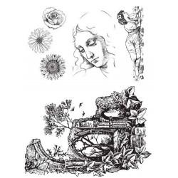 Daydream Rubber Stamp set by JudiKins