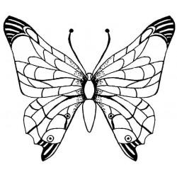 Butterflies Rubber stamps