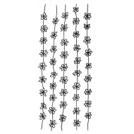 Daisy Chains Rubber Stamp