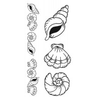 Seashells Rubber Stamp Set