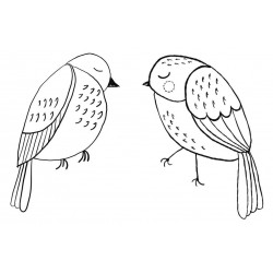 Birdeeze Rubber Stamp