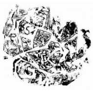 Crumpled Rubber Stamp