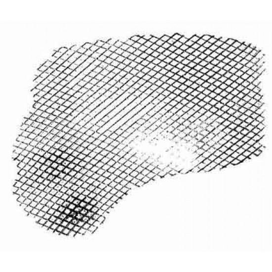 Fishnet Grunge Rubber Stamp