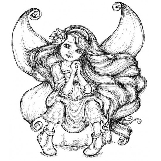 Harmony Cling Rubber Stamp