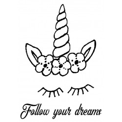 Follow your dreams Unicorn