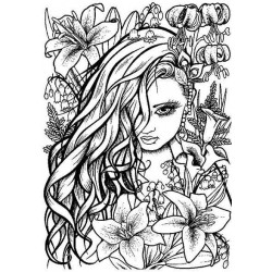 Lilleth Cling Rubber Stamp