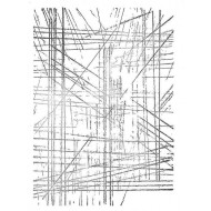 Scratch Lines Background Rubber Stamp